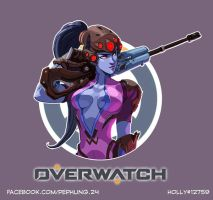 Widowmaker fanart by zPePhungz