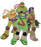 TMNT by ss2sonic