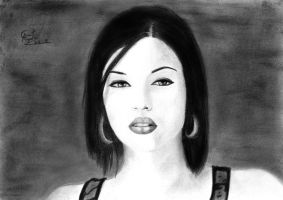 Stoya drawing 2 by caiusaugustus