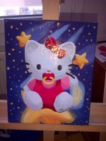 Bebe Hello Kitty - Tableau paint by DisccatFR