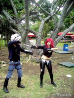 Ezreal y Katarina Cosplay en Nacion Party 2.0 by EnriqueNg