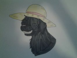 Doggy Luffy Smiling by XfangheartX