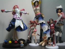My anime figure collection by MARKCW