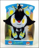 Pokemon - Luxio Bell Plush by TeacupLion