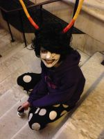 Gamzee Makara halloween cosplay by Iris-Iridescence