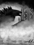 The King of Monsters - Godzilla by sstb25