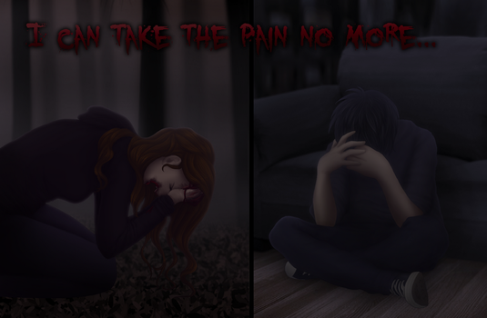 I Can Take The Pain No More by Lilafly