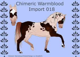 Chimeric Warmblood Import 018 by LiaLithiumTM