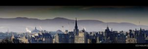 Edinburgh Skyline by mortimea