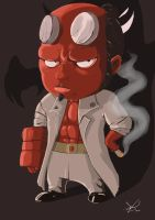 Little Hellboy by Zharo