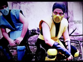 Mortal kombat-Living forestIII by colored-doll