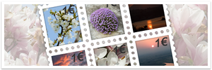 Springtime Stamps by BlackDiamond-Studio