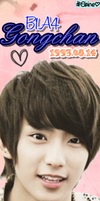 B1A4 Gongchan Bookmark [PNG] by xElaine
