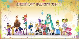 Cosplay party 2012 by Fenix-Dream