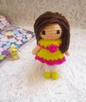 Little amigurumi doll free pattern by Anitadoma