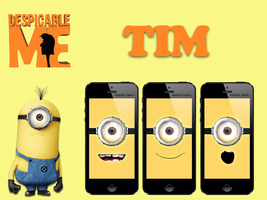 Tim minion (despicable me) by iJonas95