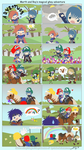 SSB: Marth + Roy's M.G.A by cindre