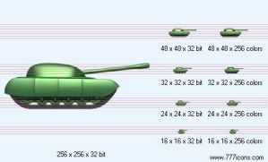 Tank Icon by military-icons