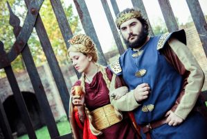 Queen Cersei and King Robert by Natsumi723