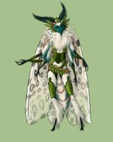 Leopard Moth Warrior by Kitsune-aka-Cettie