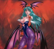 Morrigan by Nickoxo by tony058