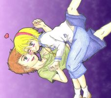 Little Jake And Sherry by DarkAngel0267