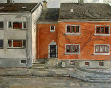FACADE PAINTING by erlend-se