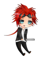 Chibi Reno by Aquakuro