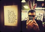 Deviant ID bunny. by addictedImage