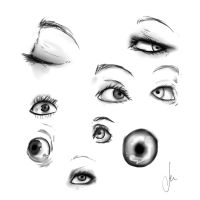Eyes Practice 3 by Sewyns