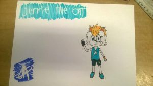 Jerrie the cat(other ideas for names are possible) by Beatclaw01