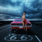 Route 66 - J by Walking-Tall