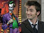 David Tennant as Joker by BlackBatFan