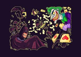 Batman VS Joker4 by Hamzeh-Kalimat
