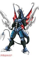 GFW Gigan redesign by crovirus