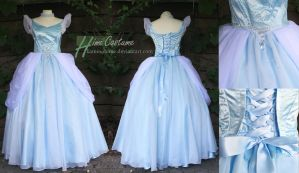 Cinderella's Ball Gown by kaminohime