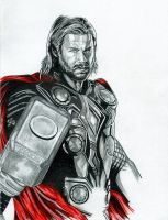 Avengers Assemble Thor by adamreese2006