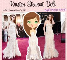 Kristen Stewart Doll (en los OSCARS 2013) by RoohEditions