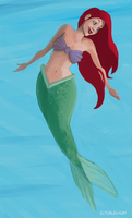 a little mermaid by actualashley