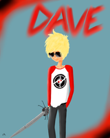 Dave Homestuck by TheCrimsonCanvas