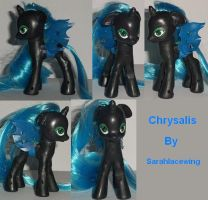 My Little Pony Custom Chrysalis by Ember-lacewing