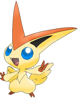 Victini by LegalShiny