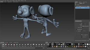 WIP - Smurf Sculping by iemersonrosa