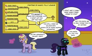 Informal Fighting is Magic! by GoggleSparks