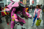 Me and my wife made a D.va/Meka cosplay for NYCC! by crash0veride02
