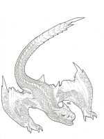 Fury of the Tigrex (uncolored) by Grey-wingedBlitz