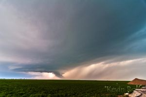 Supercell Base and Wall Cloud - near Alva, OK by Bvilleweatherman