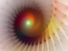 Spiral Rainbow by DWALKER1047