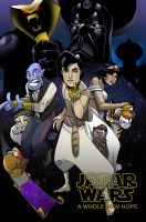 Jafar Wars: A Whole New Hope by ClayGrahamArt