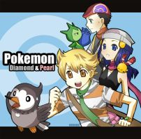 Pokemon DP by neneno
